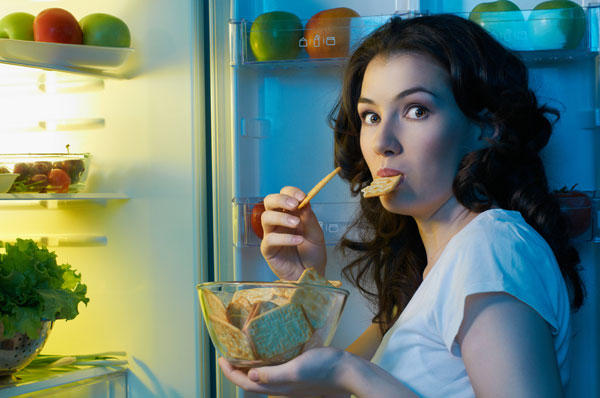 Eating at night diet